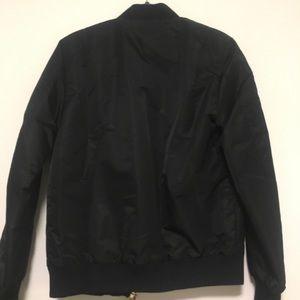 Palm Angels Jackets & Coats - Palm Angels Maxi Zip Bomber Jacket